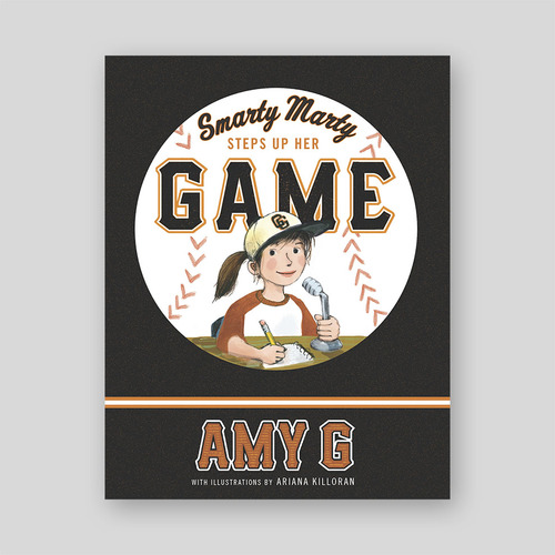 Smarty Marty Steps Up Her Game book