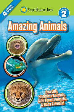 Smithsonian Readers: Amazing Animals Level 2 book