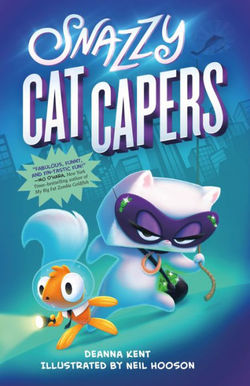Snazzy Cat Capers book