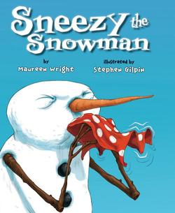 Sneezy the Snowman book