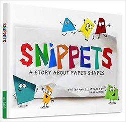 Snippets: A story about paper shapes book