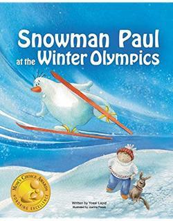 Snowman Paul at the Winter Olympics book