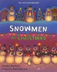 Snowmen at Christmas book