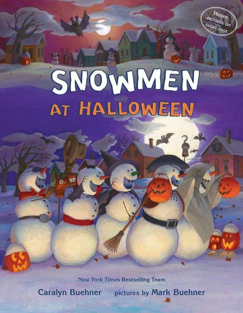 Snowmen at Halloween book