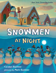 Snowmen at Night Lap Board Book book