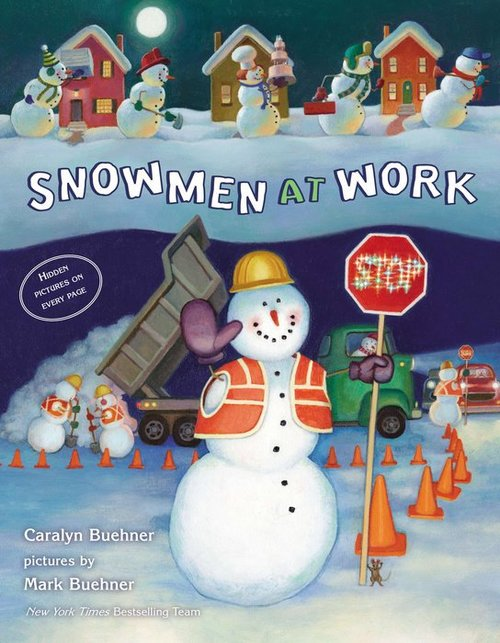 Snowmen at Work book