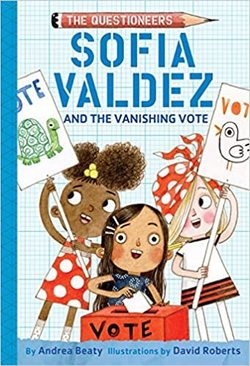 Sofia Valdez and the Vanishing Vote book
