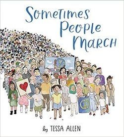 Sometimes People March book