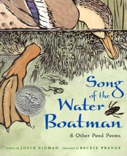 Song of the Water Boatman and Other Pond Poems book