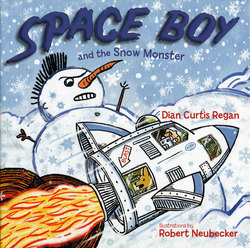 Space Boy and the Snow Monster book