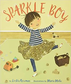 Sparkle Boy book