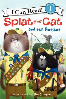 Splat the Cat and the Hotshot book