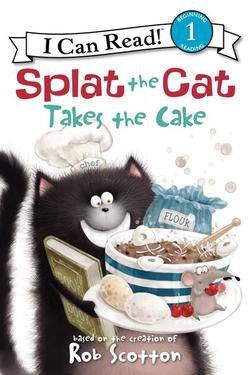 Splat the Cat Takes the Cake book