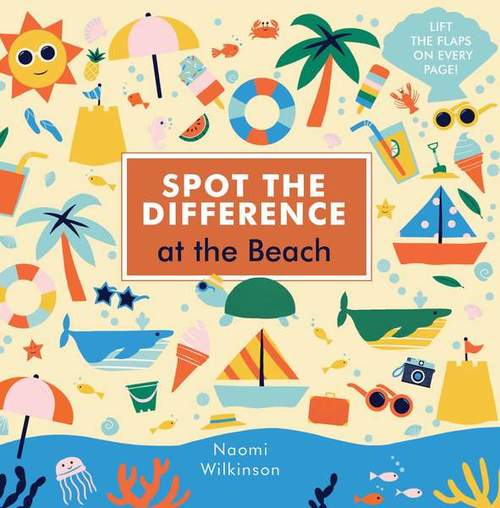 Spot the Difference: At the Beach book