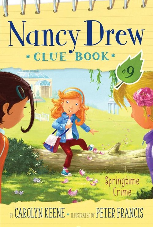 Springtime Crime book