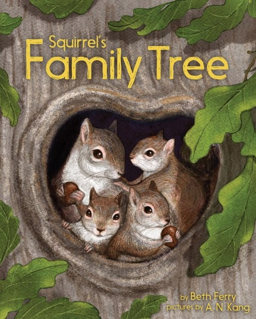 Squirrel's Family Tree Book
