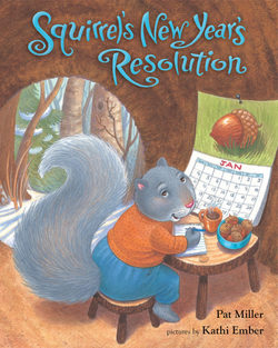 Squirrel's New Year's Resolution book