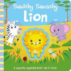 Squishy Squashy Lion Book