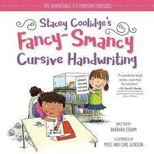 Stacey Coolidge Fancy-Smancy Cursive Handwriting book