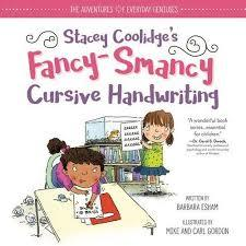 Stacey Coolidge Fancy-Smancy Cursive Handwriting book