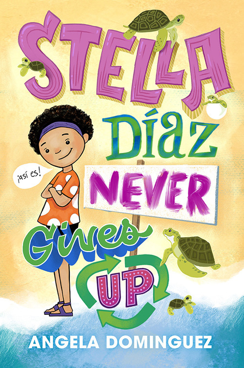 Stella Diaz Never Gives Up book