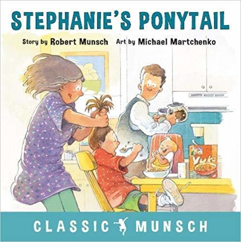 Stephanie's Ponytail book