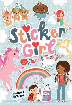 Sticker Girl book