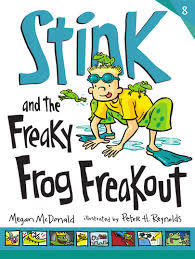 Stink and the Freaky Frog Freakout book