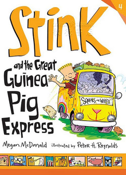 Stink and the Great Guinea Pig Express book