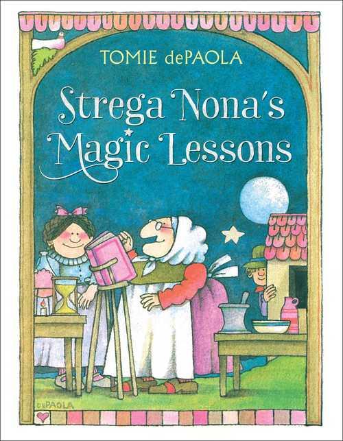 Strega Nona's Magic Lessons book