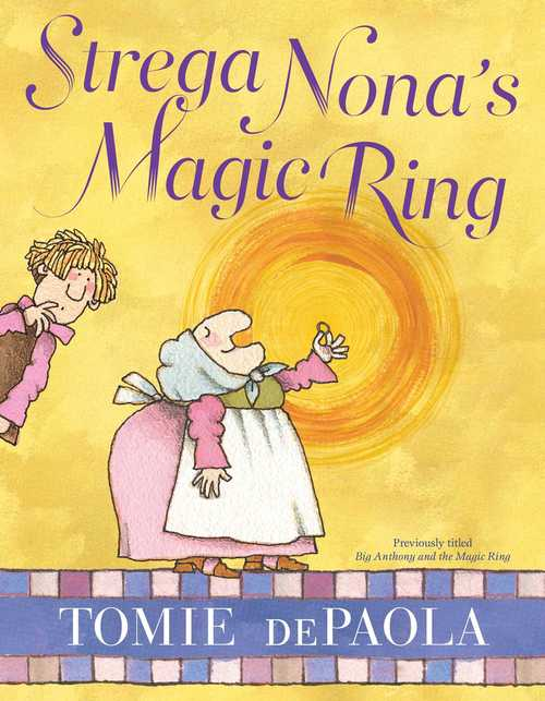 Strega Nona's Magic Ring book
