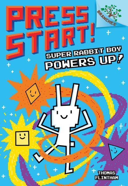 Super Rabbit Boy Powers Up! book