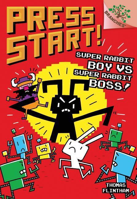 Super Rabbit Boy vs. Super Rabbit Boss book