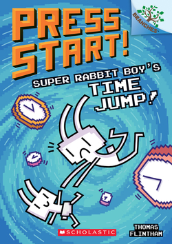 Super Rabbit Boy's Time Jump! book