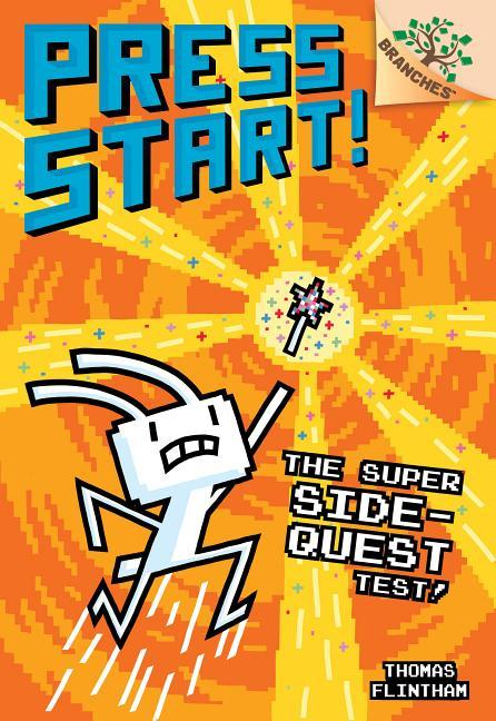 Super Side-Quest Test!: A Branches Book (Press Start! #6), Volume 6 book