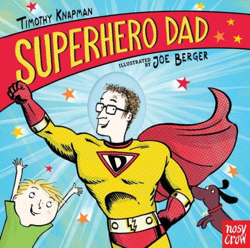 Superhero Dad book