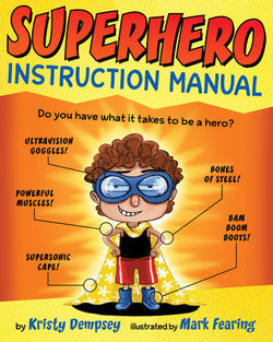Superhero Instruction Manual book