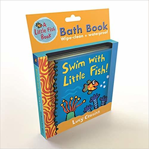Swim with Little Fish!: Bath Book book