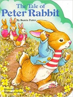 Tale of Peter Rabbit book
