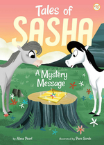 Tales of Sasha 10: A Mystery Message book