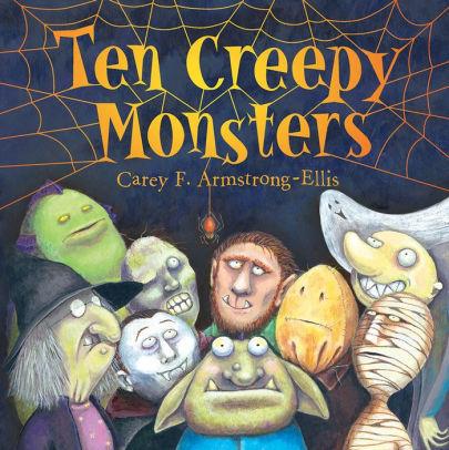 Ten Creepy Monsters book