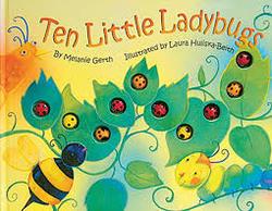 Ten Little Ladybugs Storybook book