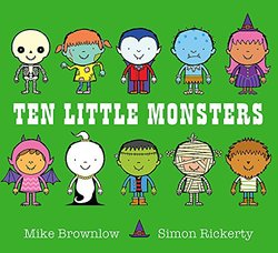 Ten Little Monsters book