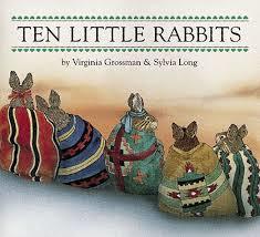 Ten Little Rabbits Book