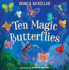 Ten Magic Butterflies book