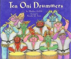 Ten Oni Drummers book