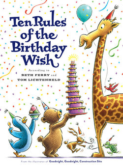 Ten Rules of the Birthday Wish book