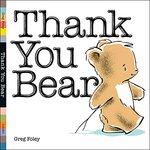 Thank You Bear book
