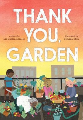 Thank You, Garden book