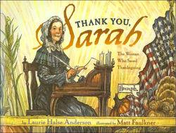 Thank You, Sarah book